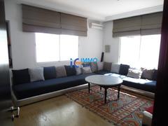 Villa bien meublèe de 1600m² en location à Bir kacem-Souissi