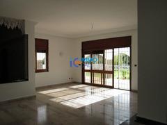 Villa moderne vide en location à Souissi