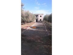 Villa semi fini titré de superficie 2606 m2 en vente à Marrakech sur la route de chwiter