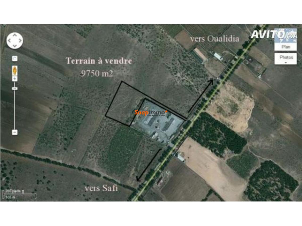 Joli Terrain Titré D'1hectare à 5km De Safi - 1/2
