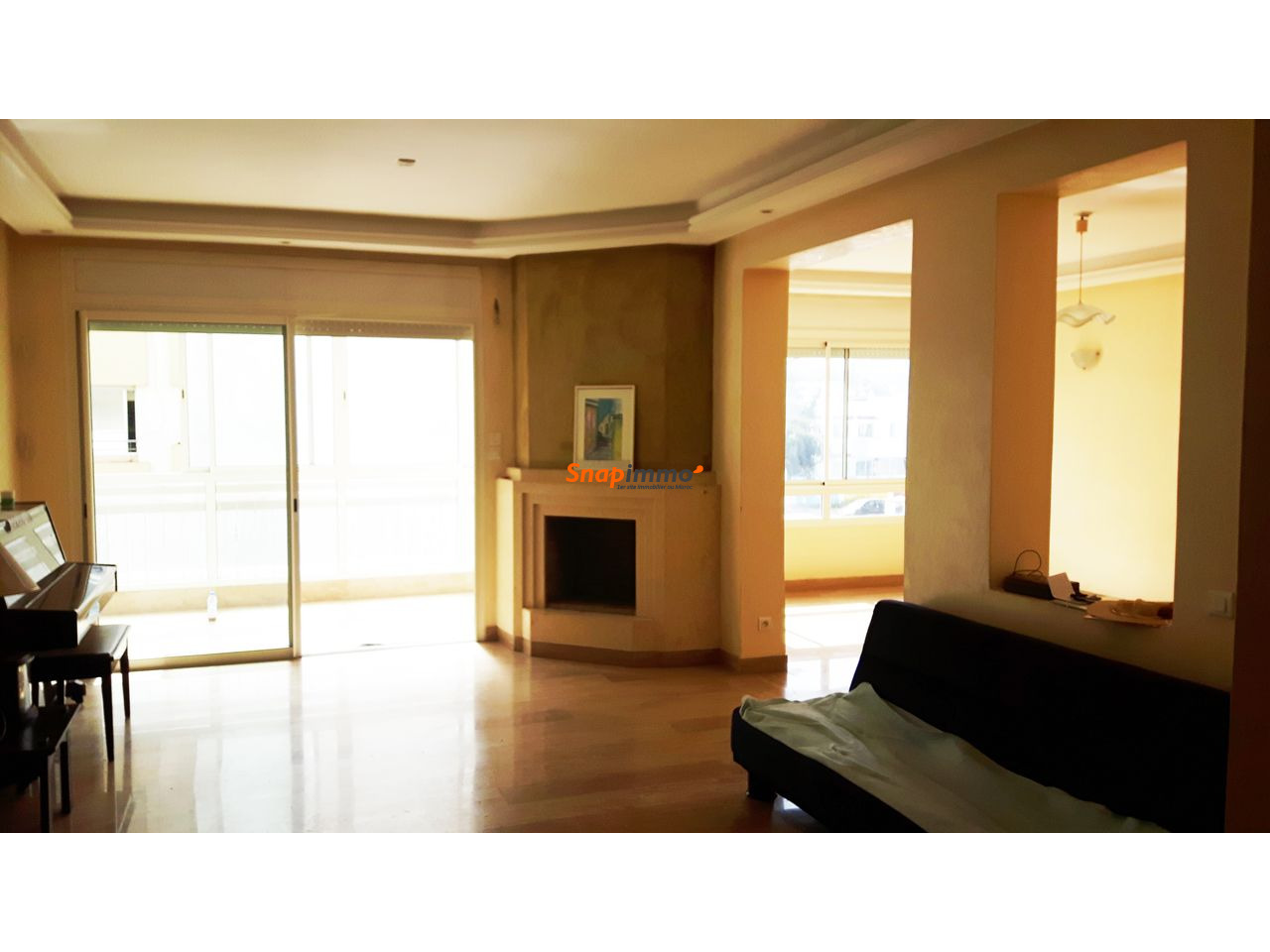 Appartement de 153 m2 à Rabat Hay Riad - 1/3