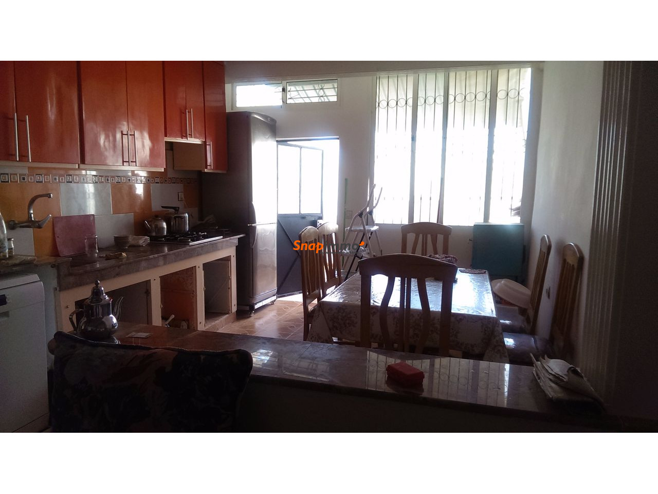 Appartement meublé pour colocation 2 à 4 pers. -secteur Alazhar - 2/3