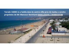 Terrain Bouryam 16000 m2 a saidia