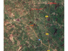 21000 m titré à 13 km de el Gara zone agricole