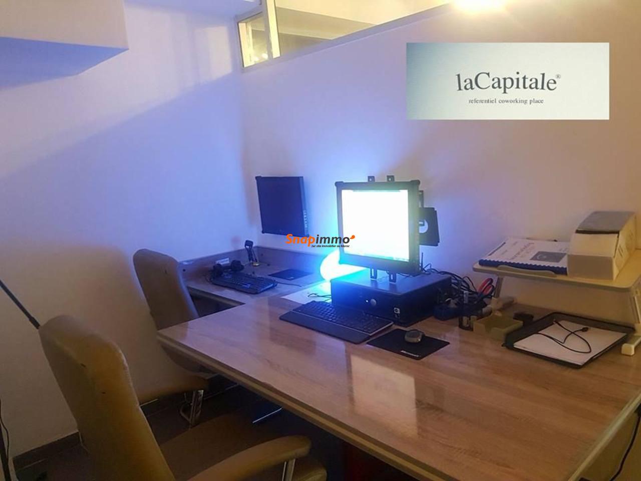 bureau premium de 6 m2 meublé équipé - 1/4