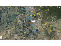 25000 m titrée 3 km de Benslimane zone agricole