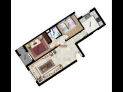 A vendre 3 pieces 64 m2
