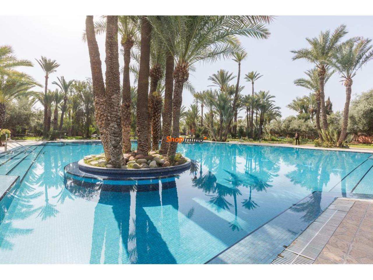 Appartement meublé avec piscine :Palmeraie:Marrakech - 1/6