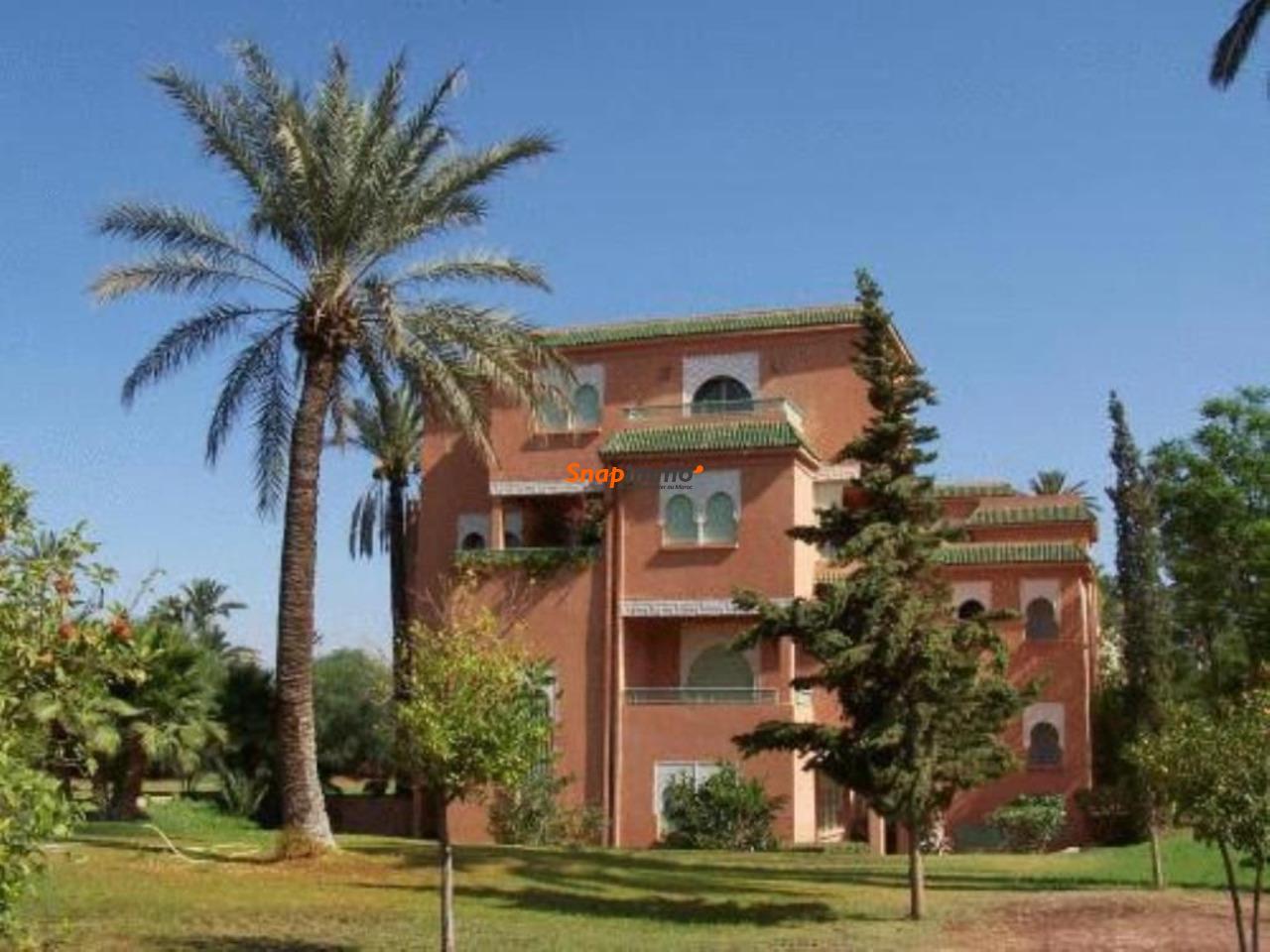Appartement meublé avec piscine :Palmeraie:Marrakech - 2/6