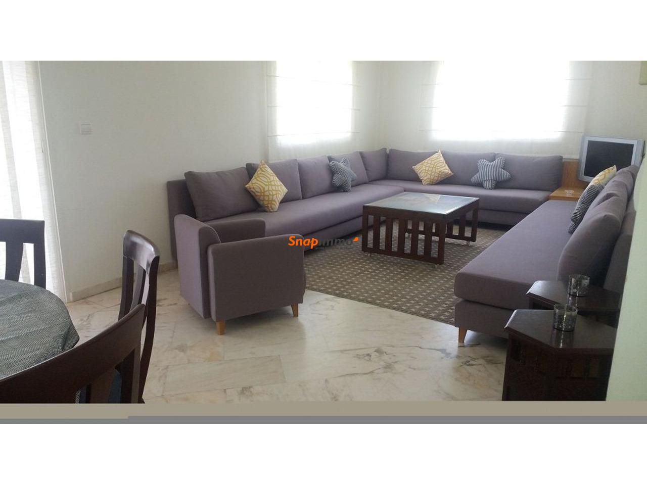 Appartement meublé avec piscine :Palmeraie:Marrakech - 3/6