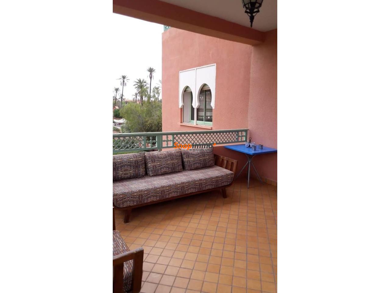Appartement meublé avec piscine :Palmeraie:Marrakech - 4/6
