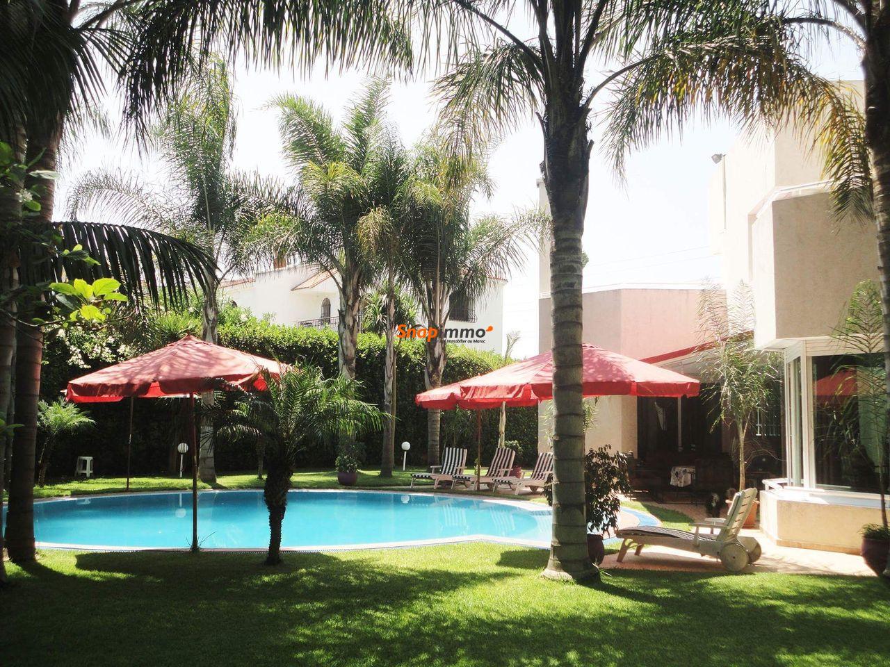 VENTE Villa Haut Standing Hay Riad sans Intérmédiaire - 1/6