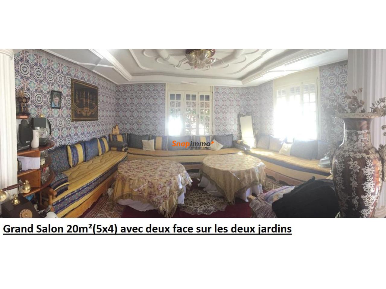Maison type Semi Villa de 230 m2 - 4/6