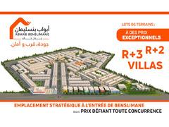 Lots de terrain sur Benslimane à partir de 96 m² - Image 1/5
